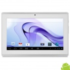"QY-720 7 ""TFT Dual Core Android 4.2 Tablet PC w / 512MB RAM / ROM 4GB / HDMI - Weiß + Silber"