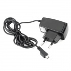 EU Plug Power Adapter AC Charger for Samsung - Black (100~240V)