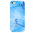 Dandelion Style Protective Rhinestone + Plastic Back Case for Iphone 5 - Blue