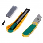 FEIBAO F-L-302 Two Sets of Stainless Steel Knife w/ 5 Blades - Yellow + Green + Black + Silver