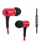 AWEi TS-130Vi Stylish 3.5mm Jack Wired In-ear Headset w/ Microphone for Samsung Note 2 / S3 / S4