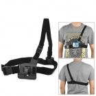 Miniisw M-CS1 Elastic Single Shoulder Chest Mount w/ J Buckle for Gopro Hero 3 / 2 / 1 / SJ4000