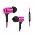 Awei TS-130Vi Modische 3.5mm Jack Wired In-Ear-Headset w / Mikrofon für Samsung Note 2 / S3 / S4