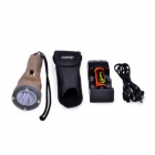 TrustFire TR-DF001 650lm 2-Mode White Diving Head Flashlight w/ Cree XM-L2 T6 - Khaki (1 x 26650)