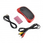 GAME PLAYER ES-16 2.5'' TFT Screen 8-Bit Handheld Game Console w/ 168 Games - Red + Black