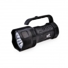 TrustFire TR-S700 7 x Cree XM-L T6 1-Mode 3000lm Cool White Portable Flashlight - Black (3 x 26650)