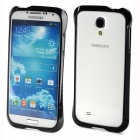 Newtop Protective Plastic Bumper Frame Case for Samsung S4 i9500 - Black