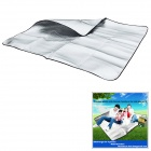 WindTour Outdoor Moisture-Proof Picnic Blanket Camping Mat Pad - Silver (150 x 200cm)