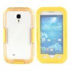 IP X8 Diving Waterproof Protective Case for Samsung S4 i9500 - Yellow + Transparent