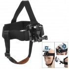Miniisw M-HF 3-Degree-Freedom Elastic Adjustable Head Strap Mount for Gopro Hero 4/ 3+/3/2/1/SJ4000