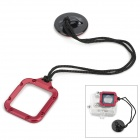 Miniisw A-L31 Safety Buckle Tethers for Gopro Hero 3  - Red + Black