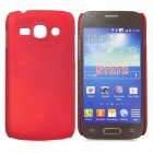 Protective ABS Back Case for Samsung Galaxy Ace 3 S7272 / S7275 / S7270 - Red