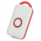 Wireless Bluetooth v4.0 Alarm Device for Iphone / Ipad / Ipod - White + Red