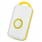 Wireless Bluetooth v4.0 Alarm Device for Iphone / Ipad / Ipod - White + Yellow