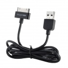 DiscoveryBuy 30-Pin male to USB 2.0 Male Charging Data Cable for iPod/iPhone/iPad - Black (100 CM)