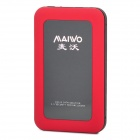 Maiwo K2513 USB 2.0 SATA HDD Enclosure - Black + Red (1TB Max.)
