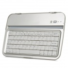 "8"" Aluminum Alloy Bluetooth V3.0 Keyboard for Samsung N5100 - Silver Grey"