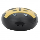 HYTJK007 estilo bonito Beetle TF MP3 Music Player - Amarelo + Black (16GB Max.)