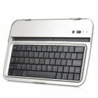 "8"" 61-Key Bluetooth V3.0 Keyboard for Samsung N5100 - Black + Silver"
