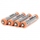 "MP Replacement Rechargeable ""3000mAh\"" AA Ni-MH Batterier Set-apelsin + silver (4 PCS)"