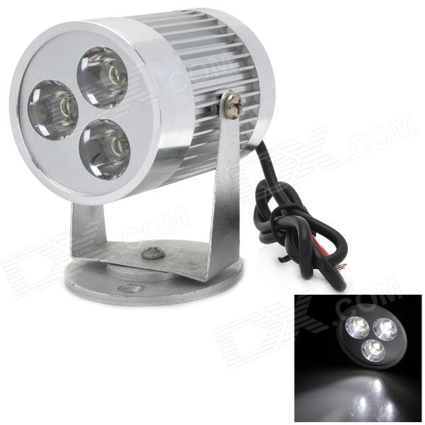 WE88 Waterproof 15W 850lm 5500K White Motorcycle Modification Light w/ 3-CREE XR-E R3 (12~80V) electric car motorcycle 15w led headlights modification lens light 12 60v