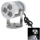 WE88 Waterproof 15W 850lm 5500K White Motorcycle Modification Light w/ 3-CREE XR-E R3 (12~80V)