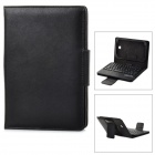 "PU Leather 59-Key Bluetooth V3.0 Keyboard Case for Samsung N5100 8"" - Black"