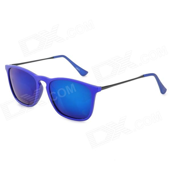 4187 Fashion Resin Blue REVO Lens UV400 Protection Polarized Sunglasses - Deep Blue 3 5mm male to male audio connection nylon cable white red black 1m