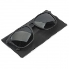 Stylish UV400 Protection Polarized Sunglasses - Black + Green
