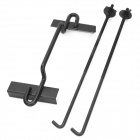 SL-266 Iron Car Battery Bracket - Black