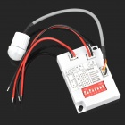 Mini Adjustable 280W LED Light Sensor Switch - White (DC 8-30V)