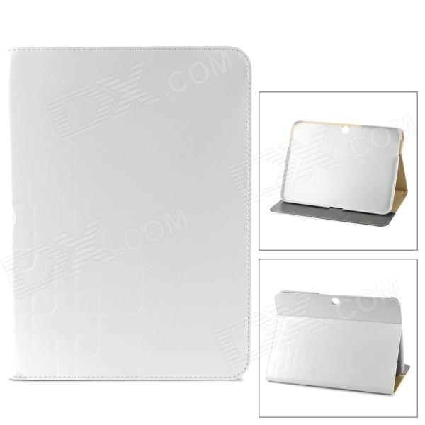 Stylish Flip-open PU Leather Case w/ Holder + Card Slot + Auto Sleep for Samsung Galaxy Tab 3 P5200