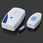 Wireless Door Bell Transmitter / Receiver - Blue + White