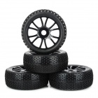 Replacement 1 / 8 Off-road Vehicle Car Tire Tyre (4 PCS)