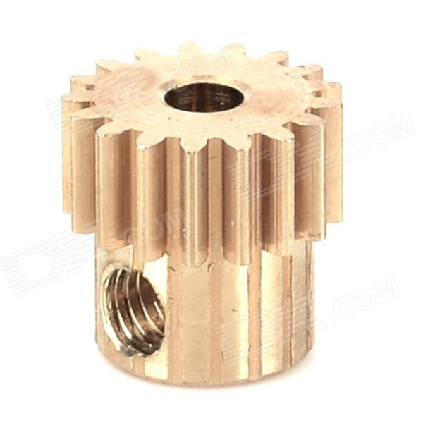 HSP 11119 17T Motor Gear Tooth for 1/10 R/C Car - Golden