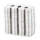Nickel Plating Magnetic Piece - Silver (100 PCS / 3 x 1mm)