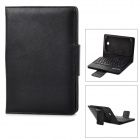 "59-Key PU Leather Bluetooth V3.0 Keyboard Case for Samsung 7"" - Black"
