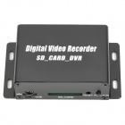 Mini Digital DVR Video Recorder w/ SD Slot Audio Cable - Black