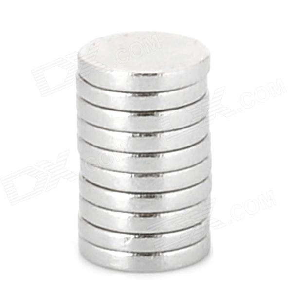 6 x 1mm Round N33 NdFeB Magnet - Silver (10 PCS) 3 x 3 x 1mm n38 powerful ndfeb round magnet for kid diy