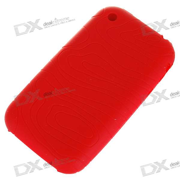 Protective Silicone Case for   Iphone 3g/3GS (Red)