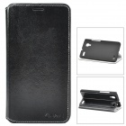 Azns Stylish Protective PU Leather Case for vivo Xplay - Black
