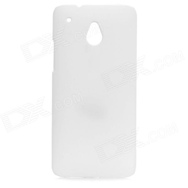 Protective PC Hard Back Case for HTC One Mini M4 - White аксессуар чехол with love moscow samsung galaxy s8 plus кожаный black 1616