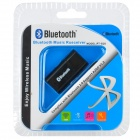 PT-810 Mini Style USB Bluetooth V2.0 + EDR Audio Receiver - Black