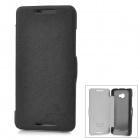 NILLKIN Protective PC Back Case w/ Cover for HTC Butterfly S 901e - Black