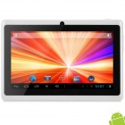 "Q88 7"" Android 4.2 Tablet PC w/ 512MB RAM / 4GB ROM / G-Sensor - White"