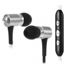 Awei TS-130vi Stereo In-ear Style Earphones w/ Line Control / Microphone - Black + White