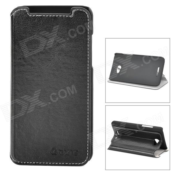 Azns Stylish Protective PU Leather Case for HTC X920e - Black azns protective pu leather case for samsung i8552 red