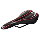 LIETU 415A Bike Bicycle Seat Saddle - Black + Red