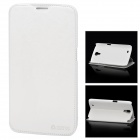 Azns Stylish Protective PU Leather Case for Samsung i9200 - White