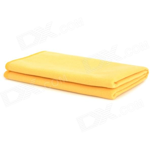 Wellhosue WH-00610 Outdoor Sport Superfine Fiber Quick-drying Towel - Yellow